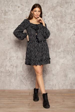 Сукня «Мітраль» чорного кольору
