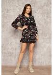Сукня «Клоділь» чорного кольору