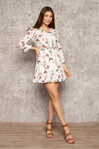 Сукня «Клоділь» молочного кольору