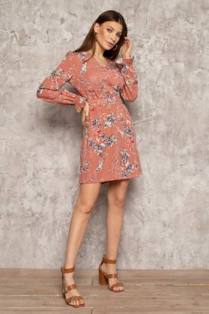 Сукня «Франні» персикового кольору