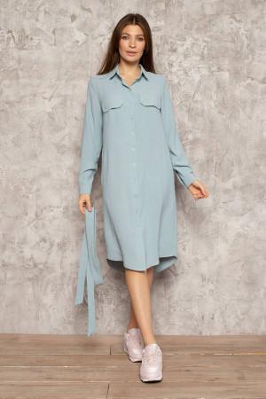 Платье «Арей» голубого цвета