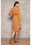 Сукня «Арей» теракотового кольору