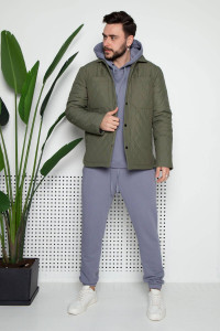 Мужская куртка «Карл» цвета хаки