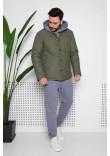 Чоловіча куртка «Карл» кольору хакі