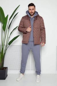 Мужская куртка «Карл» цвета мокко
