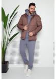 Чоловіча куртка «Карл» кольору мокко