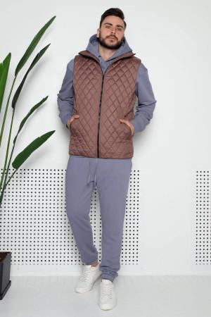 Мужская жилетка «Марк» цвета мокко