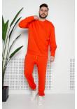 Чоловічий світшот «Джейк» помаранчевого кольору