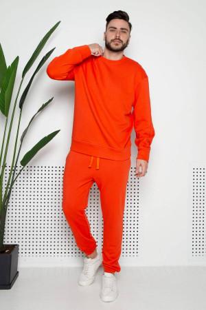 Мужской свитшот «Джейк» оранжевого цвета