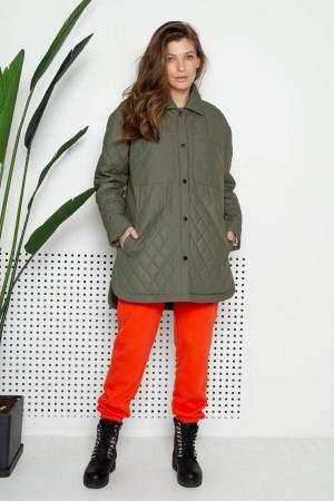 Женская куртка «Джозет» цвета хаки