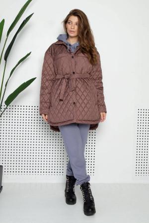 Жіноча куртка «Джозет» кольору мокко