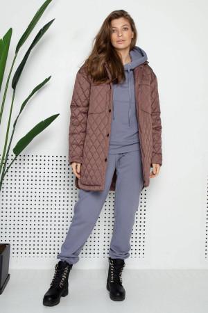Женская куртка «Джозет» цвета мокко