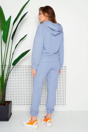 Спортивный костюм «Джесси» голубого цвета