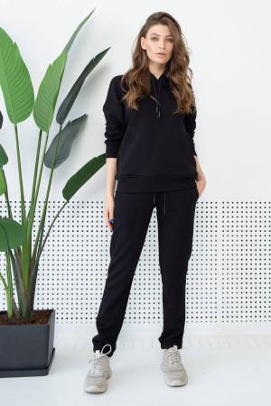 Спортивный костюм «Джесси» черного цвета