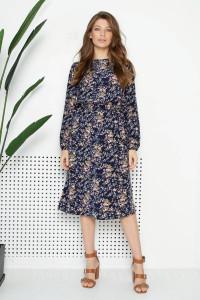 Платье «Роальд» синего цвета