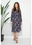 Сукня «Роальд» синього кольору