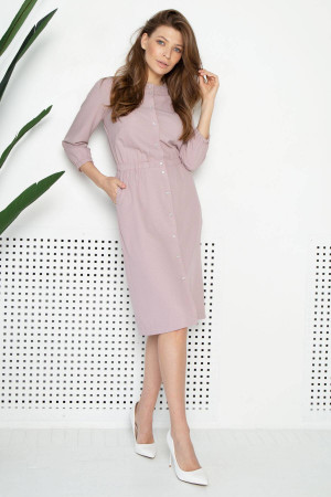 Платье «Рада» цвета пудры