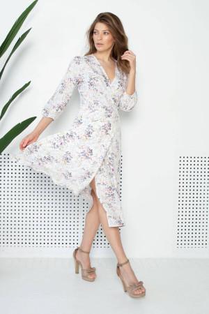 Платье «Нэнни» молочного цвета