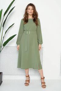 Платье «Айрис» цвета хаки
