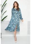 Сукня «Лізетта» кольору полину