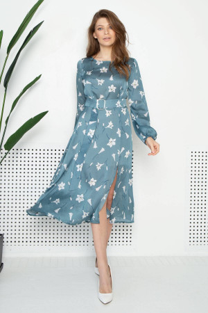 Платье «Лизетта» цвета полыни
