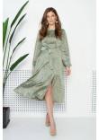 Сукня «Софія» оливкового кольору