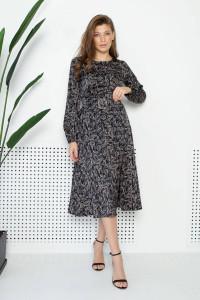 Сукня «Софія» чорного кольору