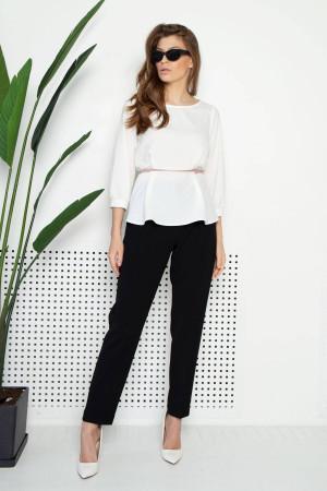 Блуза «Лінетт» молочного кольору