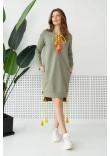 Сукня «Като» оливкового кольору
