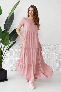 Платье «Астрей» пудрового цвета