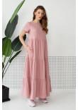 Сукня «Астрей» пудрового кольору