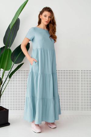 Платье «Астрей» голубого цвета