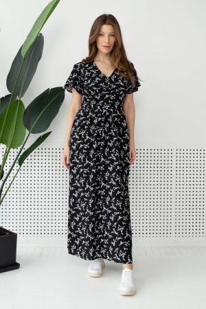 Платье «Орсана» черного цвета