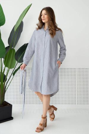 Платье «Конни» синего цвета