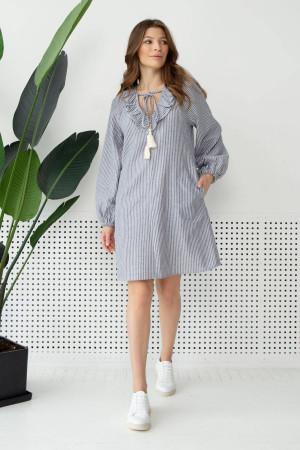 Платье «Идоль» синего цвета
