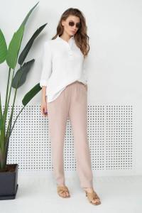 Блуза «Лума» білого кольору