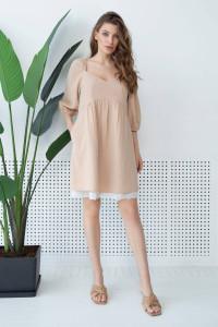 Платье «Марлоу» бежевого цвета