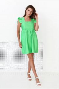 Платье «Джилли» зеленого цвета
