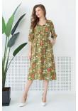 Сукня «Тільда» кольору хакі