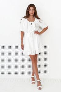 Платье «Марлен» молочного цвета