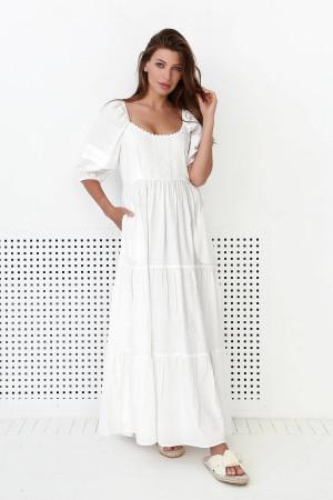 Сукня «Люпин» молочного кольору