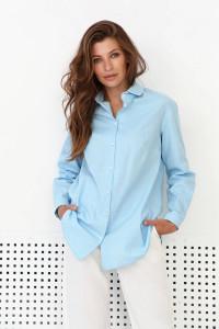 Сорочка «Флоріан» блакитного кольору