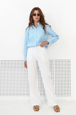 Рубашка «Флориан» голубого цвета