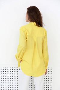 Рубашка «Флориан» желтого цвета