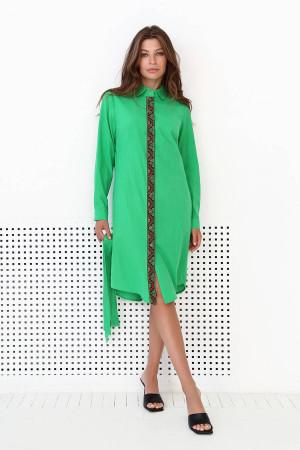 Сукня-сорочка «Марися» зеленого кольору