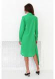 Сукня-сорочка «Діна» зеленого кольору