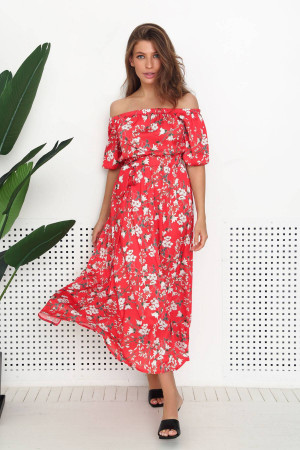 Сукня «Доріс» червоного кольору