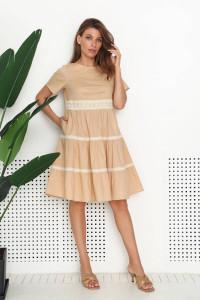 Сукня «Неталін» бежевого кольору