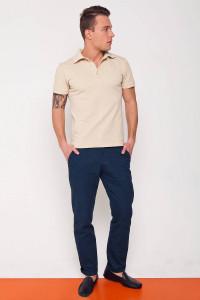 Чоловічі брюки «Оверко» синього кольору