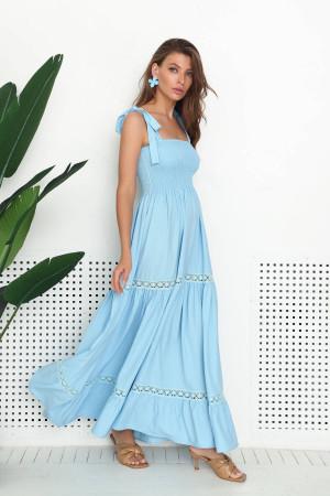 Сарафан «Діді» блакитного кольору